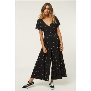 O'Neill Shannon Floral Wide leg Jumpsuit